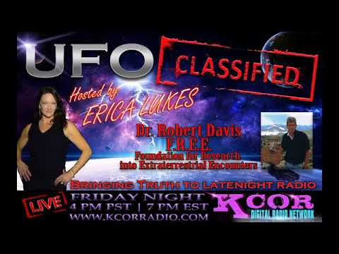 UFO Classified |  Dr Robert Davis on Consciousness and UFO Research
