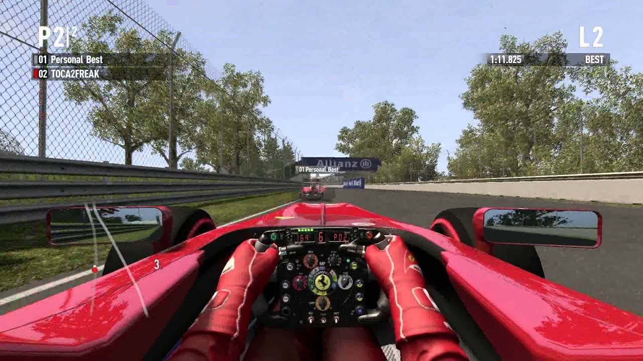 Trm S Real Cockpit Mod For Codemasters F1 2011 Pc Youtube