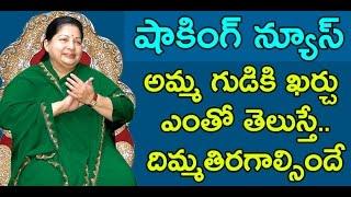 shocking   most expensive temple amma alayam for jayalalitha   dharuvu tv