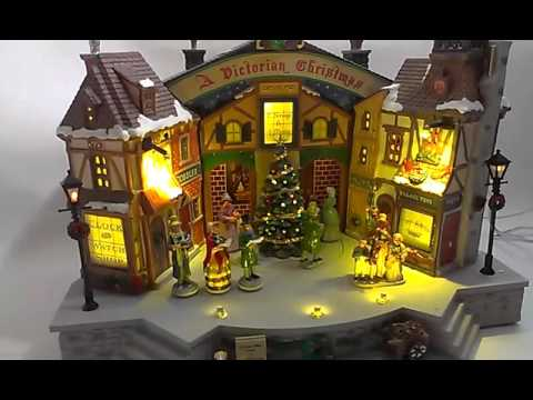 Lemax  A Victorian Christmas Theater Stage Musical