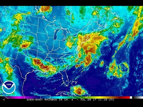 JULY NOREASTER OFFSHORE, WEATHER CONDITIONS TO IMPROVE. LONG RANGE & THE TROPICS