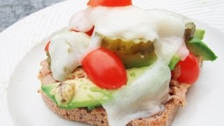 Primal Low Carb Open Faced Sandwich Recipe
