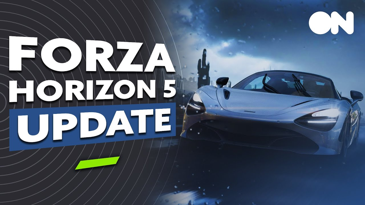Forza Horizon 5 NEW GAMEPLAY, 11 Biomes, Dynamic Weather + MORE | Forza Update