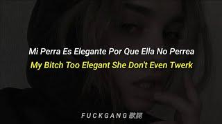 Lil tracy - My Bitch Too Elegant She Don't Even Twerk (Sub Español & Lyrics)