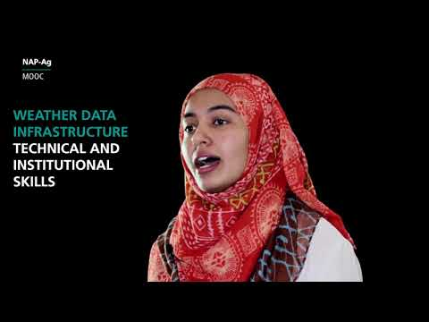 NAP-Ag MOOC - Week 3 Part 2 - Climate Information Services