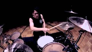 Matt McGuire - The Amity Affliction - Pittsburgh - Drum Cover