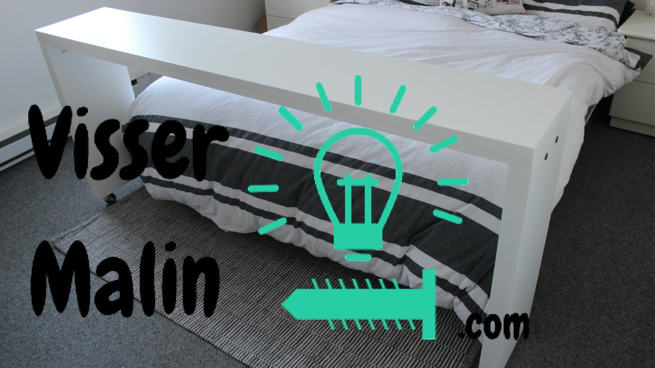 Comment Fabriquer Une Table De Lit Sur Roulette Table Dappoint Ep19