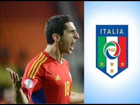 Henrikh Mkhitaryan Vs Italy ᴴᴰ[2013 Neapol]