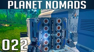 PLANET NOMADS [022] [Large Container andocken] [S02] Let's Play Gameplay Deutsch German thumbnail