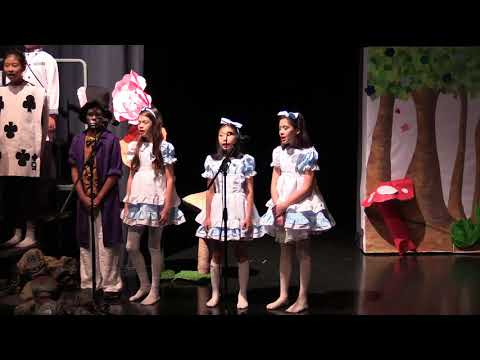 Alice the Musical Y6 Production   29 June 2018  BSKL