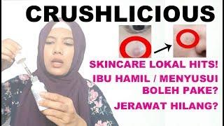 Crushlicious Overnight Glow Serum - Serum Skincare Lokal Aman untuk Ibu Hamil Menyusui