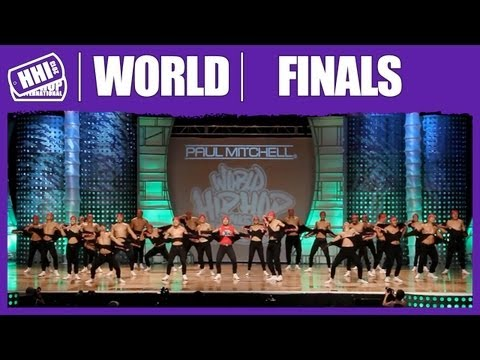 Academy of Brothers - Australia (MegaCrew) @ HHI's 2013 World Hip Hop Dance Championsip Finals