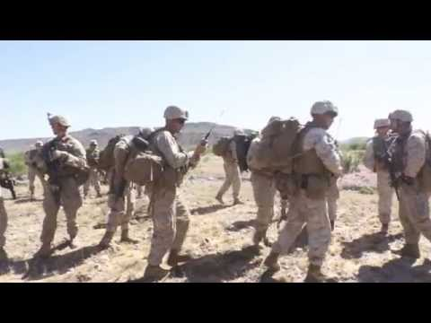 U.S. Marines Long Range Raid Exercise - WTI 2-15 MEUEX