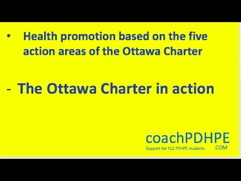 Health Promotion Action #3: Strengthen community actions