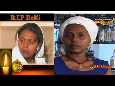 ERi-TV Remembering Beki Weiniharege Haile - Eritrean Artist