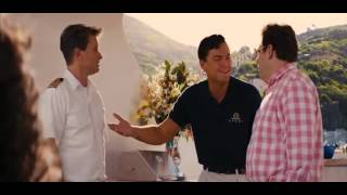Expression: Batten down the hatches. movie: The Wolf of Wall Street