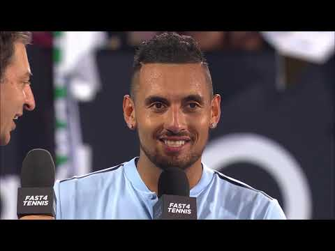 Kyrgios/Hewitt and Zverev/Dimitrov On Court Interview (FAST4) | Sydney International 2018