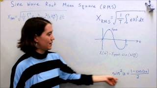 power systems 1 1 sine wave root mean square rms