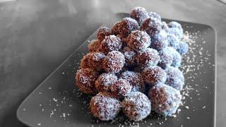|CookingPlanet| Czech Christmas sweet: Rumové kuličky (Rum balls) [Czech Cuisine S01E01]