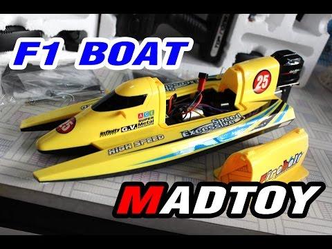ขาย เรือบังคับไฟฟ้า F1 RC SpeedBoat 1,390บ. MADTOY