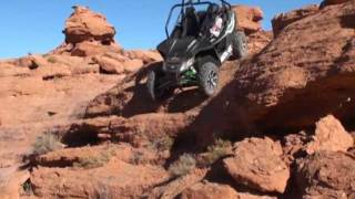 Arctic Cat Wildcat Rock Crawling with Rally on the Rocks!