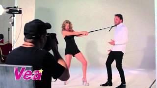 Revista VEA - Detrás de cámaras Ed. 86 clip 2 - Marcela Carvajal y Patrick Delmas.