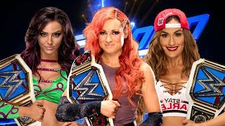 "Top 10 Future Smackdown Womens Champions ""2018"""
