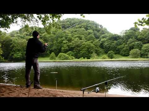 Pike Fishing Loch Faskally, Scotland