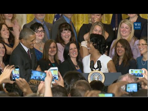 Obama Honors National Teacher Of Year And Finalists - Full Event