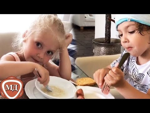 ЛИЗА и ГАРРИ ГАЛКИНЫ: Любимая ЕДА семьи Пугачевой и   Галкина! - Познавательные и прикольные видеоролики