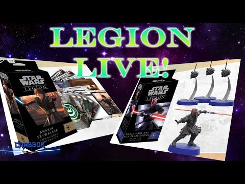 Legion Live Stream -  Take 2