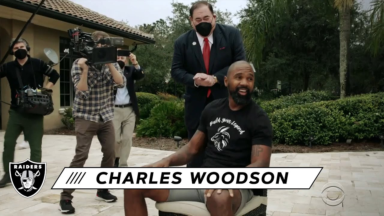Legend Built: Charles Woodson officially inducted into Pro Football ...