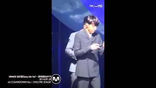 [MPD/직캠] 140918 WINNER 송민호(Song Min Ho) - 공허해(EMPTY) 1위 앵콜공연