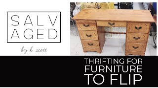 Thrifting For Furniture To Flip | Thrift With Me