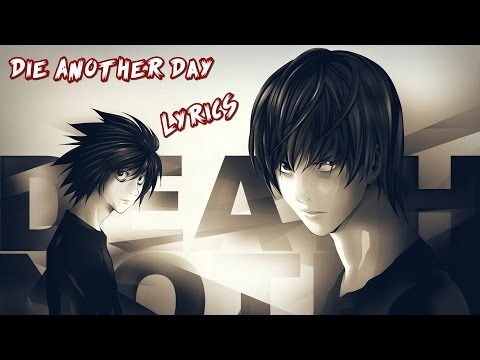 Nightcore - Die Another Day [Male Version]
