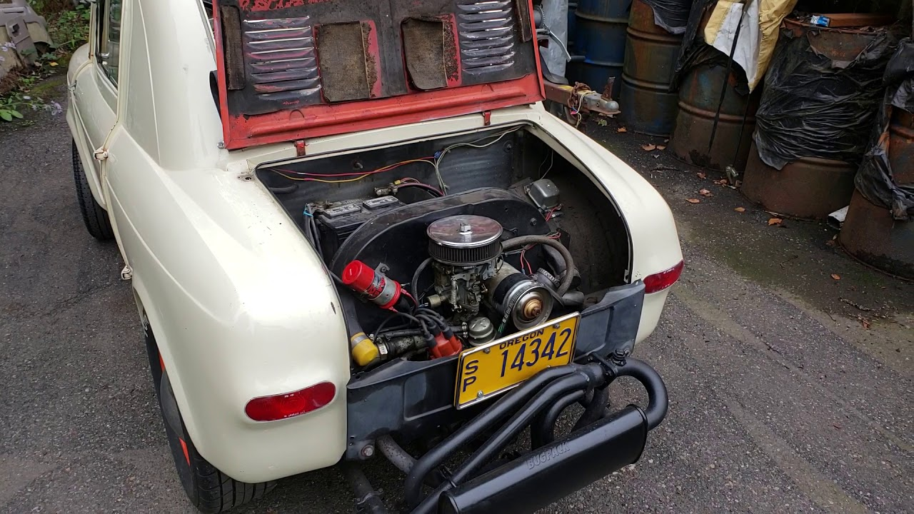 Hot Rod Vespa 400 Electrical Anomaly