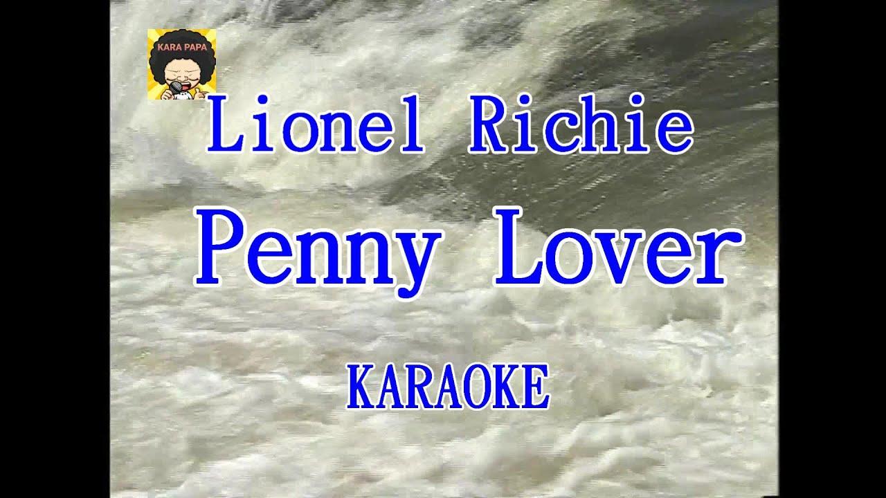 Download 【KARA PAPA】 Lionel Richie - Penny Lover  [KARAOKE] Classic song