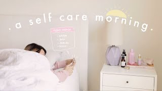 self care morning routine 2020 ⛅️