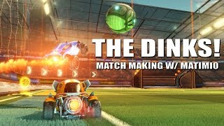 Rocket League w/ Matimi0 - The dinks are tough  - Ranked 2v2
