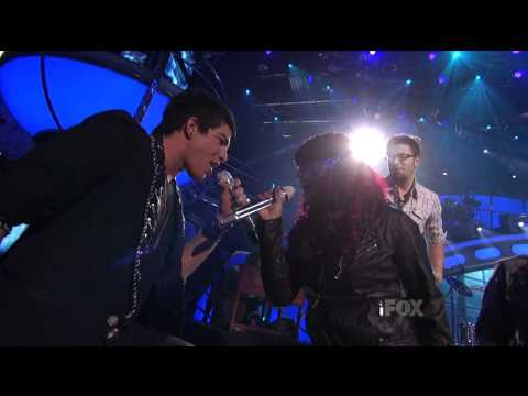 Adam Lambert  -  School's Out For the Summer  - Top 4 Results  -  06/05/09