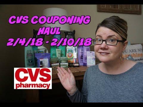 CVS COUPONING HAUL 2/4/18 - 2/10/18 | Great deals!