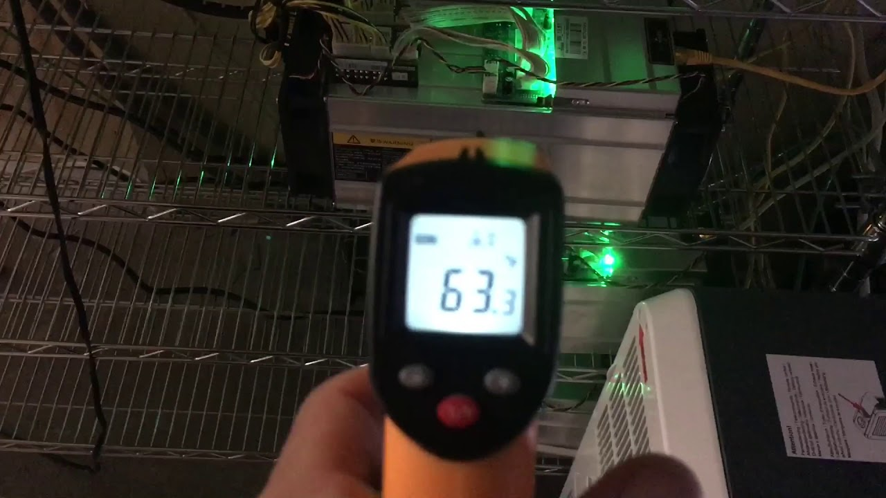 Antminer S9 ambient temperature-What is the temperature of an antminer