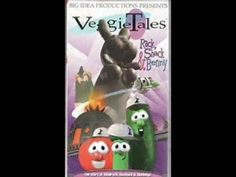 VeggieTales Rack,Shack and Benny 1995
