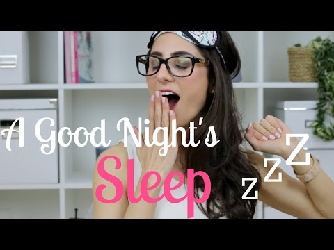 How To Have Your BEST Sleep EVER! | Study With Jess