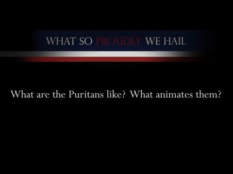 Hawthorne: What are the Puritans like?