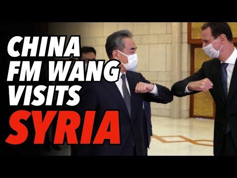 China FM Wang Visits Damascus, Invites Syria Into BRI, Warns Turkey