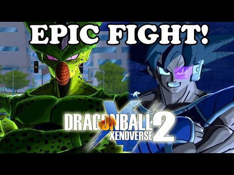 Dragon Ball Xenoverse 2 All Characters Screen & EPIC FIGHT! Imperfect Cell Gameplay [TGS 2016]