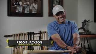 Reggie Jackson on How to be a Better Baseball Hitter with the SKLZ Hit-A-Way