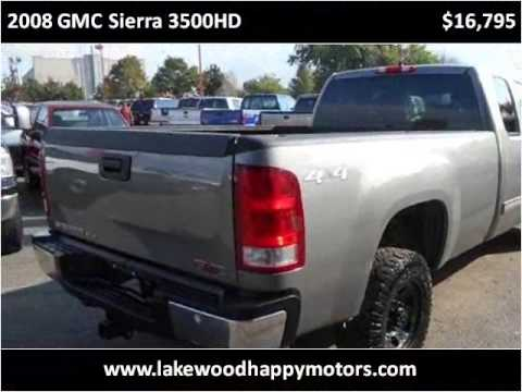 2008 gmc sierra 3500hd used cars lakewood co youtube for Happy motors inc lakewood co