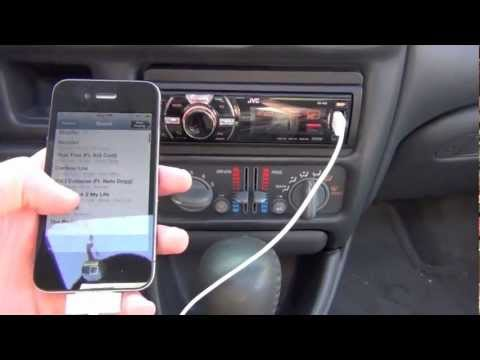 Use iPhone Music Player via USB w/ Car Stereo (NoAccSplash iPhone Jailbreak Tweak)